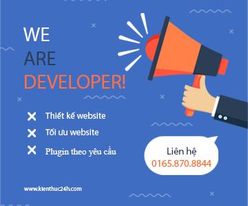 Thiết kế web - 01658708844